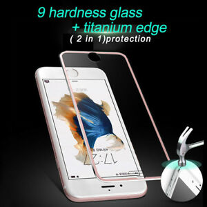3D Curved Fully Covered Tempered Glass Screen Protector Film For iPhoneX/6/7/8