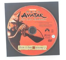 Nickelodeon Avatar The Last Airbender Book Fire Volume 2 2008 DVD Disc Only A1S