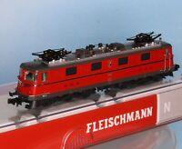 Fleischmann 737213, Spur N, SBB E-Lok Ae 6/6 , #11416, rot