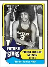 Lot of (2) HS Basketball rookie cards PRINCE purple rain little red corvette
