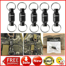 MAGNET BUCKLE FLY FISHING NET QUICK RELEASE LANYARD CLIP LAND CONNECTOR *5 L3W3