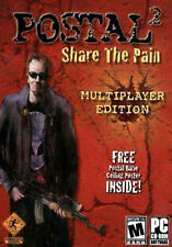 POSTAL 2 - Share the Pain - PC Brand New & Sealed RARE