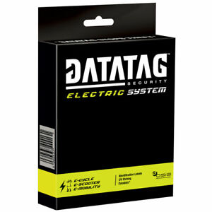 Datatag E-Bike & Electric Scooter Security Marking System Anti-Theft