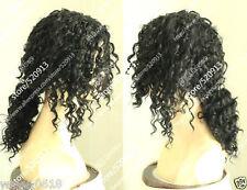 Michael Jackson/Black Screws Black Hair , Short Hair Pigtail Wig