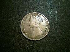 1866 VICTORIA HONG KONG CENT COIN. NICE GRADE