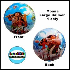 DISNEY MOANA MAUI LARGE FOIL PARTY BALLOON SUPPLIES DECORATION - ONE PIECE