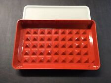 Tuperware Deli Meat Keeper 1292-1 with 1293-2 Lid (Very Good)