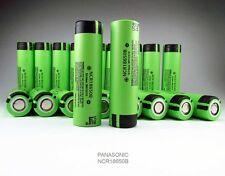 4 X Genuine Panasonic 18650 3400mAh Rechargeable Battery NCR18650B Li-ion Flat T