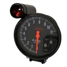 """Universal Jdm 5"""" Rpm Tachometer Gauge 11K 7 Color Display With Shift Light Black"""