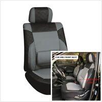 PU leather 3MM sponge front seat black gray seat lumbar pad Comfortable Breathab