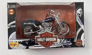 Maisto 1:18 Harley-Davidson FXSTS Springer Softail, Series 2 MISB