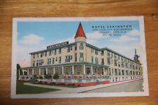 New Jersey NJ Atlantic City Hotel Lexington Postcard Old Vintage Card View Post