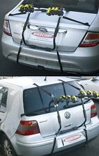Pacific 3-Bike Rear Boot Mounted Car Rack Carrier with Fastening Straps P3BBR
