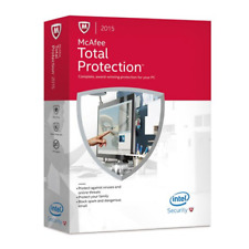 McAfee 2015 Total Protection 3 PC's MTP15EMB3RAA Brand New Sealed in Box