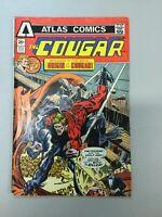 Cougar 2 Atlas Comics 1975 Bronze Age