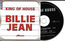 CD CARTONNE CARDSLEEVE KING OF HOUSE BILLIE JEAN (MICHAELJACKSON) 2T DE 2002 TBE