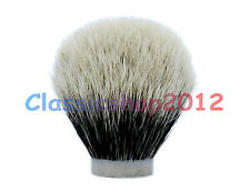 MS - Two Band 100% Finest Badger Knot Extra Density Shaving Brush Tool - 26/65MM