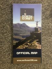 Official map North Coast Route NC 500 Scotland road atlas NC500