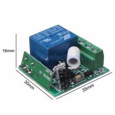2/5/PCS 433MHZ DC12V 10A 1CH Inalámbrico Relé Interruptor de control remoto de RF Receptor W