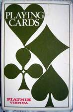 Vintage Piatnik Wien Bridge Poker - 55 Karten um 1970