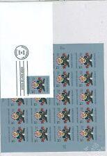 Us-3560 Military Academey 34c full pane Sheet of 20 stamps Mnh . 2001 Nip. +Fdc