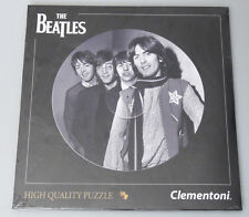 (PRL) THE BEATLES 4 FAB PUZZLE TOY 212 PZ REAL LP SIZE COLLECTION PHOTO 21401