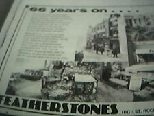 ephemera 1978 kent advert featherstones furniture store 66 years on