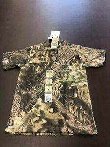 Mossy Oak Camo Classic Youth Small 6/7 T-Shirt - USA Ships Free