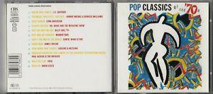 POP CLASSICS OF THE 70'S CD David Essex Dr Hook James Taylor Loggins & Messina