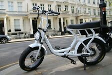 250W Electric Bike - With Pedal Assist - 2 Seater, Throttle and On Road Tyres