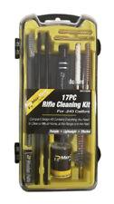 NEW 17pc Rifle Cleaning Kit .22LR .223 .222 .22-250 Gun Bronze Brush Mop Jag Rod