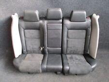 LEDER Rücksitzbank VW Passat 3BG W8 RECARO ALCATANRA grau schwarz