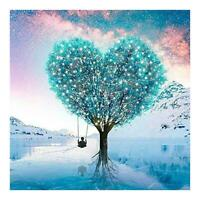 5D DIY Full Drill Diamond Painting Love Tree Embroidery Mosaic Kit (W1134)
