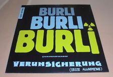 """12"""" Maxi Erste Allgemeine Verunsicherung Burli Burli Burli ,MINT unplayed,"""
