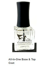 """NELLA *ALL-IN-ONE* BASE & TOPCOAT. QUICK DRY, LONGEST WEAR, """"NON-TOXIC- """"10-FREE"""