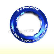 TOKEN Lock Ring For Shimano 11T Cassette , Blue