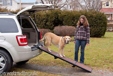 Pet Gear Travel Lite Dog Ramp Tri Fold for Car Van Disabled Injured Elderly