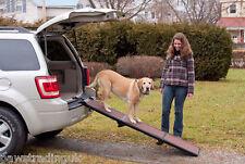 NEW Pet Gear Travel Lite Dog Ramp Tri Fold for car van Disabled injured Elderly