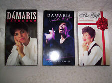 3 VHS lot Damaris Carbaugh The Gift Live Not Ashamed Kentwood Yellowstone Israel