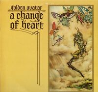 GOLDEN AVATAR a change of heart SD1 uk sudarshan 1976 LP PS EX+/EX