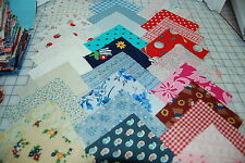 "Lot#A 100pcs quilt,sewing blocks, cotton fabric charm pack, 5"" squares-grab bag"