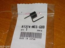 03-12 ST-1300 HONDA New Genuine Left Luggage Case Lever Spring No. 81374-MCS-G00