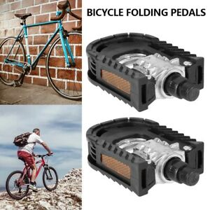 1 Pair Pedal Bicycle Bike Ebike Electric Bike pedals Foldable Normal Universal