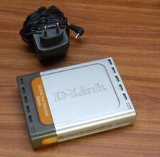 D-link DES-1005D EES1005DE J3B Switch 5 ports 10/100Mbps lot de 3 articles