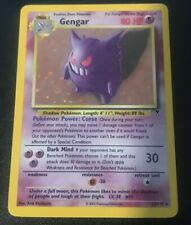 Gengar Legendary Collection Holo 11/110 Pokemon Card WOTC Excellent