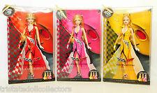 2009 CORVETTE AMERICAN FAVORITES SET Barbie (Red_Yellow_Pink TREASURE HUNT)_NRFB