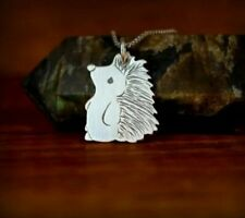 Cute Stainless Steel Hedgehog Necklace