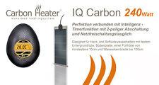 T.B.D. Carbon Heater - IQ Carbon 240Watt - Digital Heizung für Wasserbetten