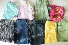 18 M Months Baby Girl Mixed Clothing LOT Oshkosh Okie Dokie Skirt Jeans Shorts