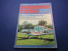 Invitation To Flying Magazine 1971,  Everything You Need To Know About Flying